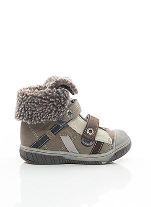 Bottines/Boots beige BABYBOTTE pour garçon