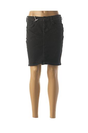 Jupe courte noir MUSTANG pour femme