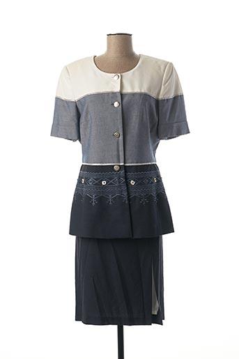 Veste/jupe bleu DIDIER PARAKIAN pour femme