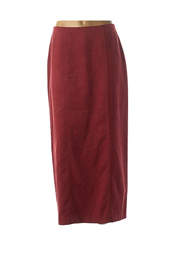 Jupe longue rouge DIDIER PARAKIAN pour femme