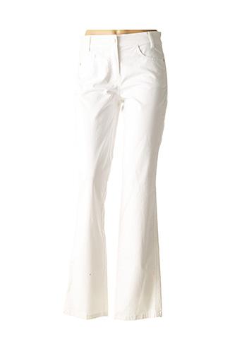 Pantalon casual blanc APRIORI pour femme