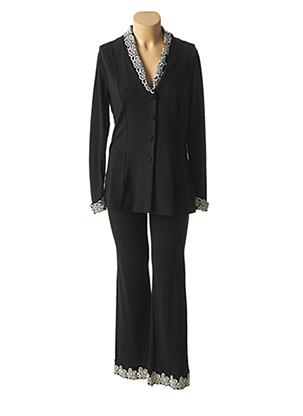 Veste/pantalon noir ETINCELLE pour femme