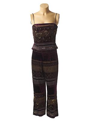 Top/pantalon violet RENATO NUCCI pour femme