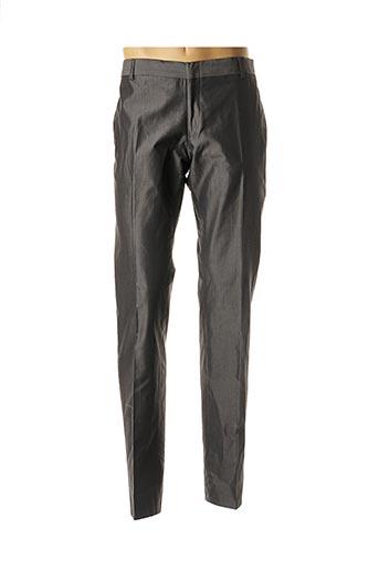 Pantalon chic gris DANIELE ALESSANDRINI pour homme