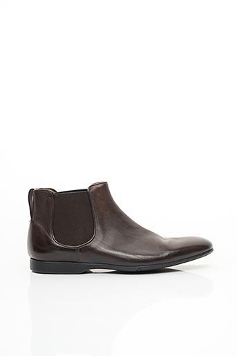 Bottines/Boots marron PAUL SMITH pour homme