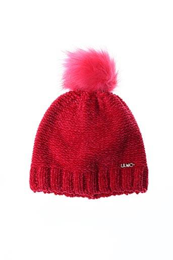 Bonnet rose LIU JO pour femme