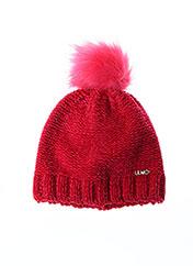 Bonnet rose LIU JO pour femme seconde vue