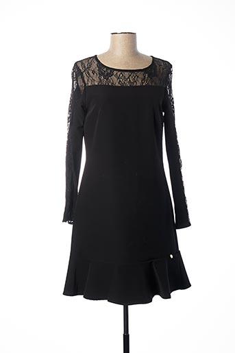 Robe courte noir PAUL BRIAL pour femme