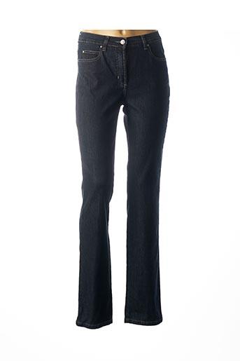 Jeans coupe slim bleu KARTING pour femme