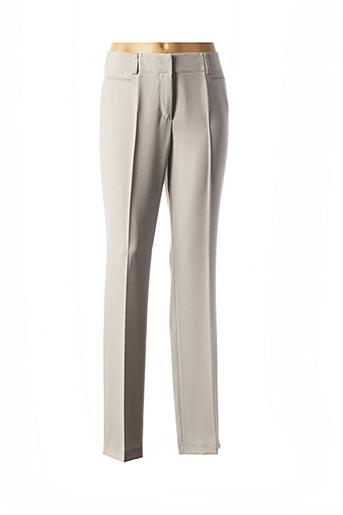 Pantalon chic gris GERRY WEBER pour femme