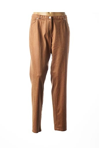 Pantalon casual marron MERI & ESCA pour femme