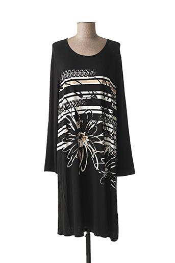 Chemise de nuit noir CHERIE LINE pour femme
