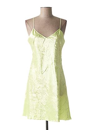Nuisette/combinette vert LINGERIE ELIZABETH pour femme