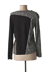 T-shirt manches longues noir PAUPORTÉ pour femme seconde vue