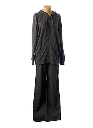 Pyjama noir MASSANA pour femme