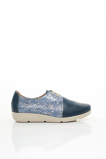 Chaussures de confort bleu BAERCHI pour femme