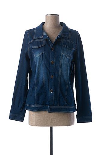 Veste casual bleu L33 pour femme