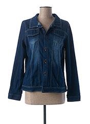 Veste casual bleu L33 pour femme seconde vue