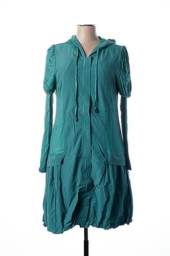 Veste/robe vert FRANSTYLE pour femme