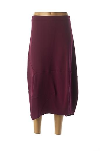 Jupe longue violet CREA CONCEPT pour femme