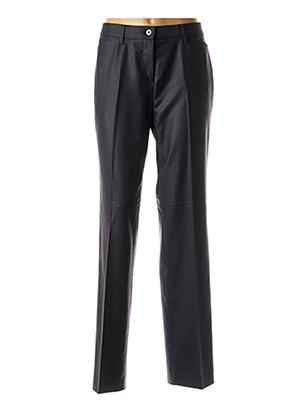 Pantalon chic bleu BRUNO SAINT HILAIRE pour femme