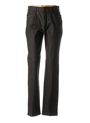 Pantalon casual noir BRUNO SAINT HILAIRE pour femme