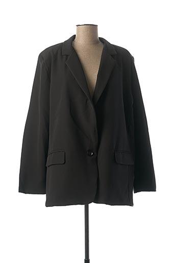 Veste chic / Blazer noir CHRISTY pour femme