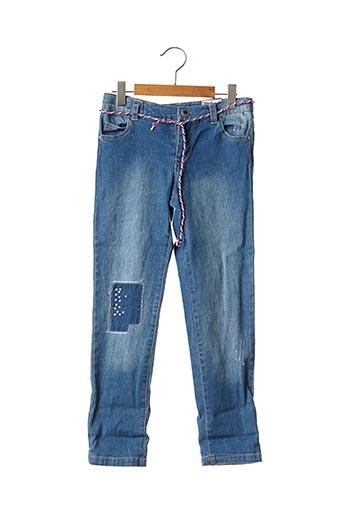 Jeans coupe slim bleu WEEK END A LA MER pour fille