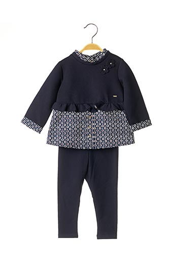 Top/pantalon bleu MAYORAL pour fille