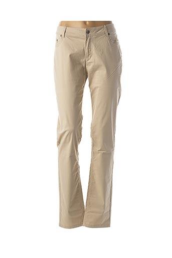 Pantalon casual beige JENSEN pour femme