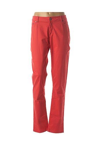 Pantalon casual rouge JENSEN pour femme
