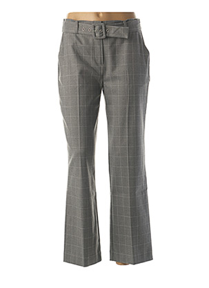 Pantalon casual gris JULIE GUERLANDE pour femme