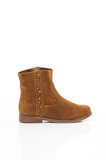 Bottines/Boots marron EMILIE KARSTON pour femme
