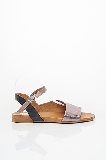 Sandales/Nu pieds rose COCO ET ABRICOT pour femme