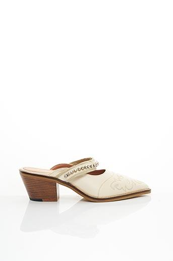 Mules/Sabots beige TWINSET pour femme