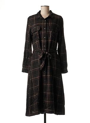 Robe mi-longue noir ATELIER BOHÈME pour femme