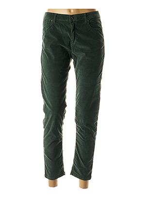 Pantalon casual vert BÔ-M pour femme