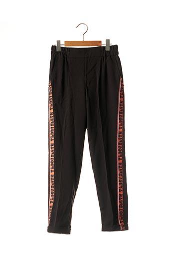 Pantalon chic noir TEDDY SMITH pour fille