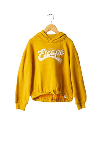 Sweat-shirt jaune GARCIA pour fille