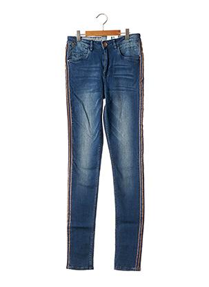 Jeans coupe slim bleu GARCIA pour fille