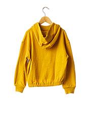 Sweat-shirt jaune GARCIA pour fille seconde vue