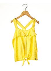 Top jaune GARCIA pour fille seconde vue