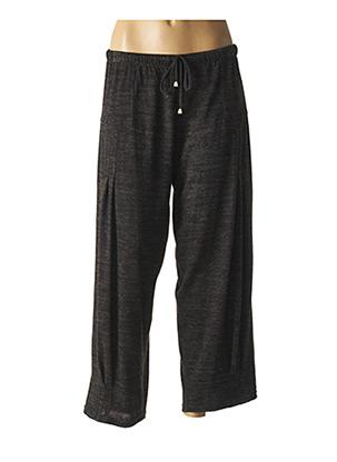 Pantalon 7/8 gris ALAIN MURATI pour femme