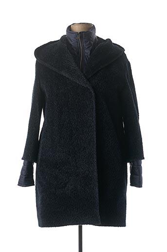 Manteau long bleu CINZIA ROCCA pour femme