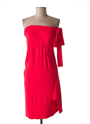 Paréo rouge HUIT pour femme