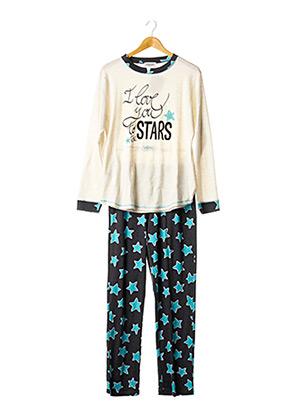 Pyjama gris MASSANA pour femme