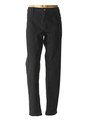 Pantalon casual noir CONCEPT K pour femme