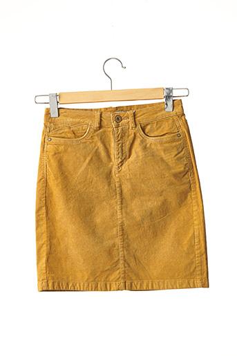 Jupe courte jaune EDC pour femme