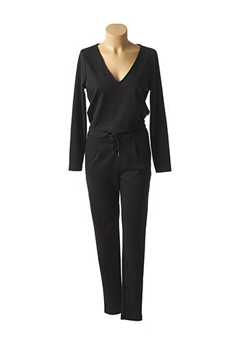 Combi-pantalon noir ICHI pour femme