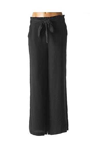 Pantalon chic noir ICHI pour femme